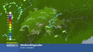 Radarbild Schweiz